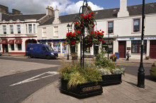 Strathaven, town centre, Lanarkshire © Anthony O'Neil
